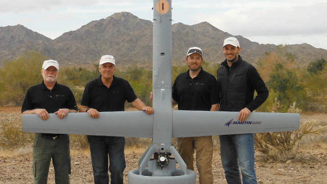 Martin UAV LLC's V-BAT Demonstrates More Than 9 Hours of Endurance