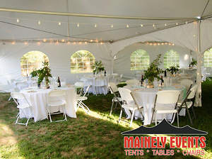 Mainely Events Provides Wedding and Event Tent Rentals to Southern Maine