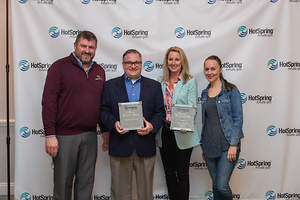 Hot Spring Spas Dealer Oregon Hot Tub Wins Award