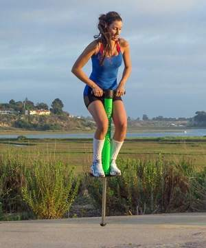 Vurtego Air Powered Pogo Stick Freestyle Collection Launched