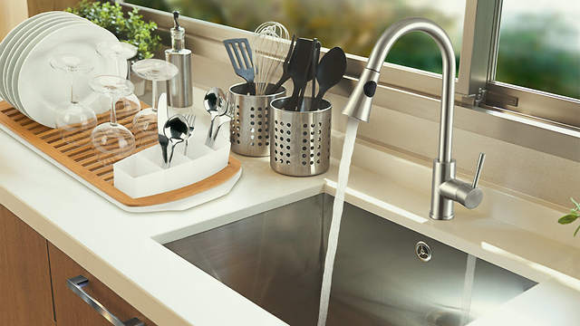 Ultimate Kitchen Announces New Kitchen Sink Faucet on ultimate refrigerator, ultimate bedroom, ultimate closet, ultimate pantry, ultimate kitchen design, ultimate toilet, ultimate painting, ultimate living room, ultimate outdoor kitchens, ultimate bathroom, ultimate portable camp kitchen, ultimate kitchen island, ultimate computer, ultimate kitchen range, ultimate bathtub, ultimate cabinets, ultimate kitchen appliances, ultimate kitchen storage, ultimate basement, ultimate food,