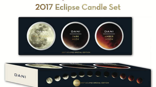 The Eclipse Candle Trio is the perfect way to remember Solar Eclipse 2017, and the warm nights spent in the high desert.