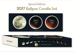 DANI Naturals Releases Limited Candle Set for 2017 Solar Eclipse
