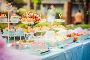 Food Bar Ideas For Wedding Reception - Ideas from Pros