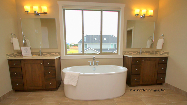 Master Bathroom Freestanding Bathtub