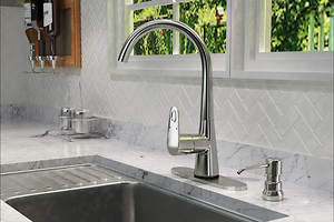 Ultimate Kitchen Offers Leak-Free Kitchen Sink Faucet
