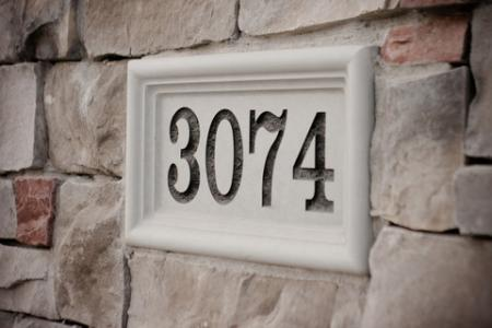 Custom Address Plaque Amp House Number Signs Company