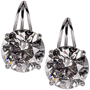 Bernie Robbins, Leading Luxury Jeweler of PA, Acquires Pair of Brilliant Diamond Earrings