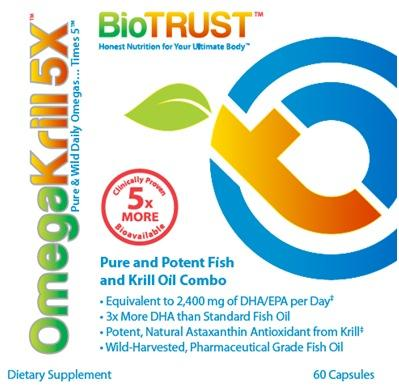 BioTrust OmegaKrill 5X Omega-3 Supplement Video Review Released