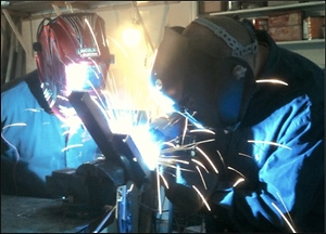 How a Welding School Teacher Celebrates an Anniversary of His Business
