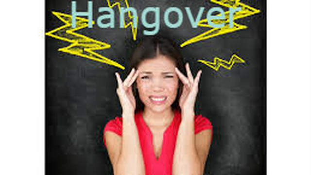 Sunday Jan.1 -  Are you hung-over?
