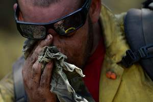 West Montana Wildfires Drop Air Quality to a Record Low
