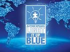 Dr Teri Rouse Sponsors 2015 Light it Up Blue for Autism