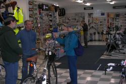 Maine Bike Shop Seeing Cyclists Anxious for Spring.