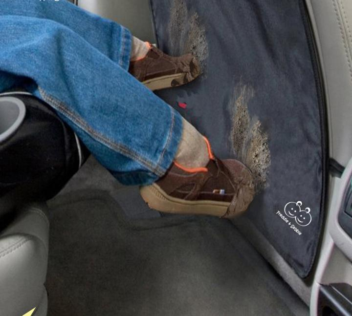 luxurious kick mats car seat protector promises long lasting cleaner car seats. Black Bedroom Furniture Sets. Home Design Ideas