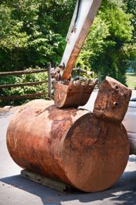 Massachusetts underground oil tank