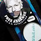 Free Assange badge