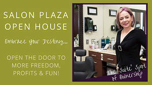 Salon Plaza Woodbridge Open House | Freedom, Prosperity, FUN!