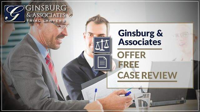 Ginsburg & Associates Offer Free Case Review