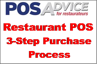 Restaurant POS 3-Step Purchase Process