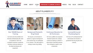 Revamped Plumbers 911 Website Goes Live