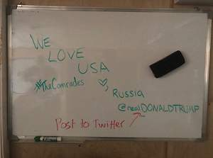 US Troops Left Strange Messages for Russian Soldiers