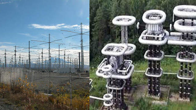 US HAARP and Russian Sura atmosphere ionization system