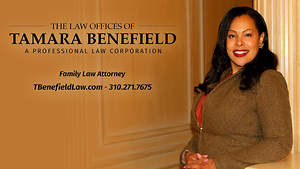 California Family Law Attorney Tamara Benefield Receives Award for Achievement