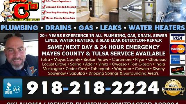 Plumber Drain Cleaning Sewer Inspection